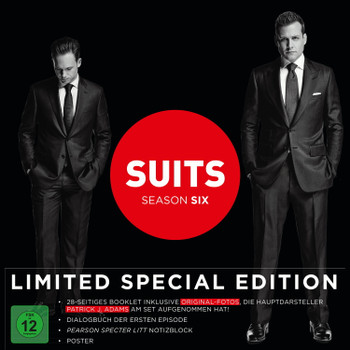 Suits - Season 6 [Limited Special Edition, 4 DVDs]