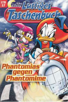 Lustiges Taschenbuch: Band 57 - Phantomias gegen Phantomime [Taschenbuch]