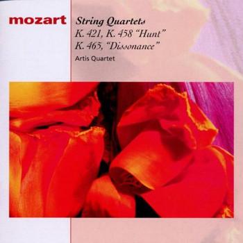 Artis Quartett - W.A.Mozart: Streichquartette Nr. 15, 17 u. 19