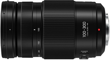 Panasonic Lumix G VARIO 100-300 mm F4.0-5.6 Power O.I.S. 67 mm Objetivo (Montura Micro Four Thirds) negro