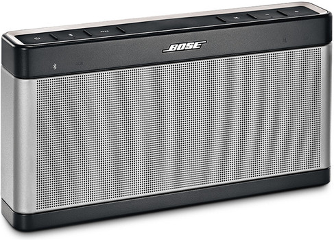 Bose SoundLink Bluetooth speaker III zilver
