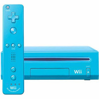 Nintendo Wii [con controller plus, console senza gioco] blu