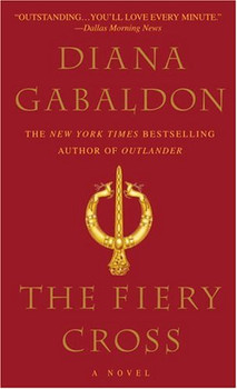 The Fiery Cross. (Dell) - Diana Gabaldon