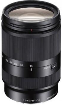 Sony 18-200 mm F3.5-5.6 LE OSS 62 mm filter (geschikt voor Sony E-mount) zwart