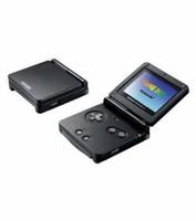 Game Boy Advance SP negro
