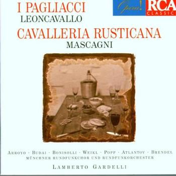 Gardelli - Leoncavallo: I Pagliacci/Mascagni: Cavalleria Rusticana (Gesamtaufnahme(ital.))