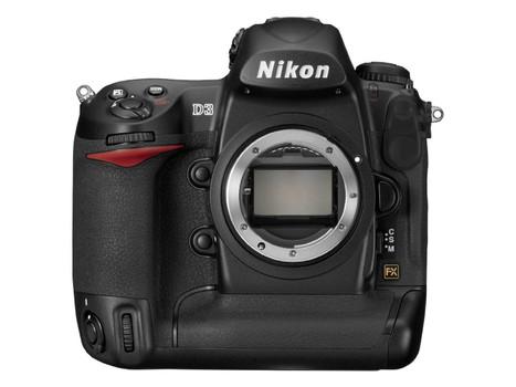 Nikon D3 zwart