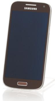Samsung I9195 Galaxy S4 mini 8Go brun automne