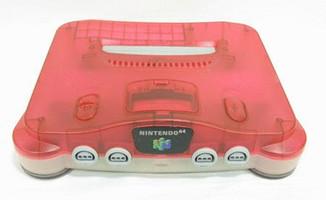 Nintendo 64 rojo