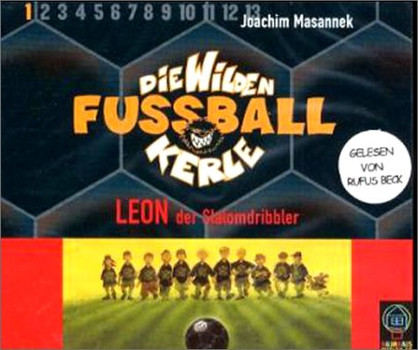 Die wilden Fußballkerle Tl.1, Leon, der Slalomdribbler. CD BOX mit 3 CDs