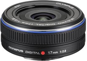 Olympus 17 mm F2.8 37 mm Objectif (adapté à Micro Four Thirds) noir