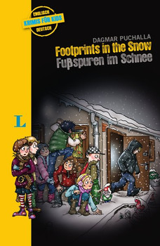 Footprints in the Snow – Fußspuren im Schnee. Krimi für Kids - Dagmar Puchalla  [Taschenbuch]