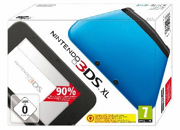 Nintendo 3DS XL Noire et bleue