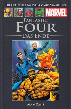 Die offizielle Marvel-Comic-Sammlung 47: Fantastic Four - Das Ende - Alan Davis [Gebundene Ausgabe]