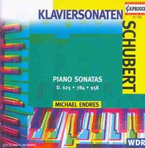 Michael Endres - Klaviersonaten d.625/784/958