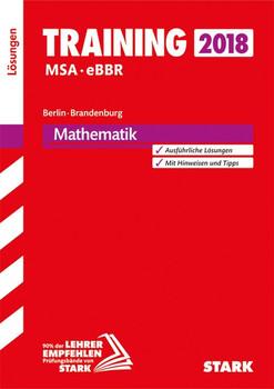 Lösungen zu Training MSA/eBBR - Mathematik - Berlin/Brandenburg [Taschenbuch]
