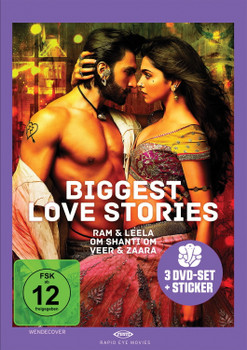 Biggest Love Stories [3 Discs]