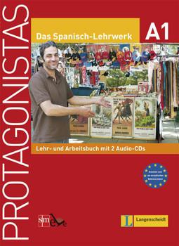 Protagonistas A1 - Lehr- und Arbeitsbuch mit 2 Audio-CDs - Cuadrado, Charo