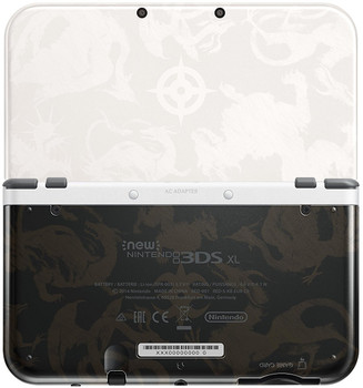 New Nintendo 3DS XL [Fire Emblem Fates Edition] bianco e nero