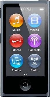 Apple iPod nano 7G 16GB grafito