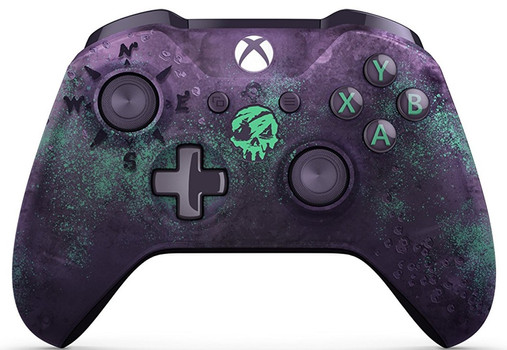 Microsoft Xbox One mando inalámbrico [Edición limitada Sea of Thieves] lila