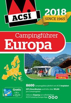 ACSI Internationaler Campingführer Europa 2018. 8600 Campingplätze [Gebundene Ausgabe]