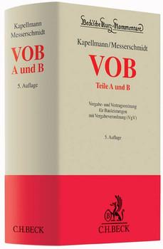 VOB Teile A und B. Vergabe- und Vertragsordnung für Bauleistungen mit Vergabeverordnung (VgV) [Gebundene Ausgabe]