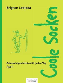 Coole Socken. April - Brigitte Lebioda  [Gebundene Ausgabe]