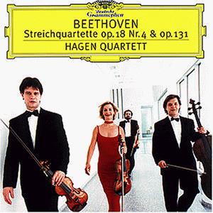 Hagen Quartett - Streichquartette Op. 131 und Op. 18