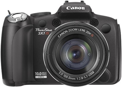 Canon PowerShot SX1 IS zwart