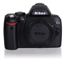 Nikon D40 SLR-Digitale camera zwart