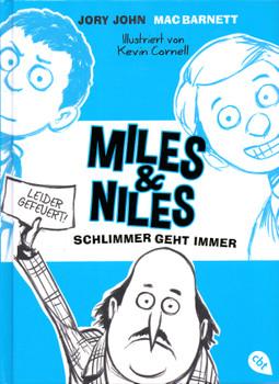 Miles & Niles - Schlimmer geht immer - Jory John [Gebundene Ausgabe]