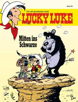 Lucky Luke 96. Mitten ins Schwarze - Achdé  [Gebundene Ausgabe]