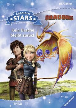 Leselernstars Dragons: Kein Drache bleibt zurück. Für Leseanfänger - THiLO  [Gebundene Ausgabe]