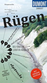 DuMont direkt Reiseführer Rügen. Mit großem Faltplan - Dagny Eggert  [Taschenbuch]