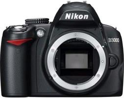 Nikon D3000 zwart