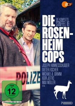 Die Rosenheim-Cops - Die komplette sechzehnte Staffel [7 DVDs]