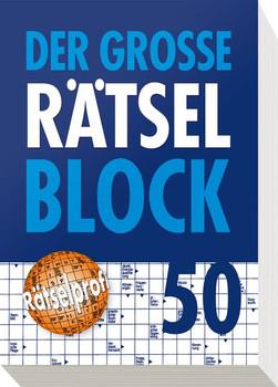 Der große Rätselblock 50 [Taschenbuch]