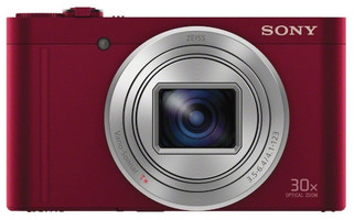 Sony DSCW-X500 rouge