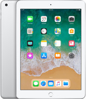 "Apple iPad 9,7"" 128GB [wifi, model 2018] zilver"