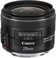 Canon EF 28 mm F2.8 IS USM 58 mm Objetivo (Montura Canon EF) negro