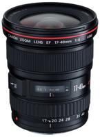 Canon EF 17-40 mm F4.0 L USM 77 mm filter (geschikt voor Canon EF) zwart