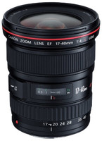 Canon EF 17-40 mm F4.0 L USM 77 mm Objetivo (Montura Canon EF) negro