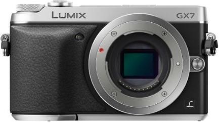 Panasonic Lumix DMC-GX7 zilver