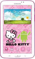 """Samsung Galaxy Tab 3 7.0 7"""" 8Go [Wi-Fi, Hello Kitty Edition] blanc"""