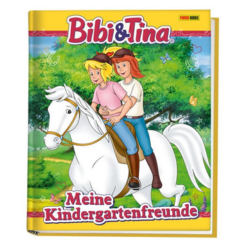 Bibi & Tina: Meine Kindergartenfreunde. Kindergartenfreundebuch [Gebundene Ausgabe]