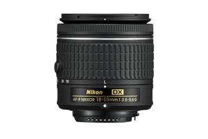 Nikon AF-P DX NIKKOR 18-55 mm F3.5-5.6 G 55 mm Objectif (adapté à Nikon F) noir
