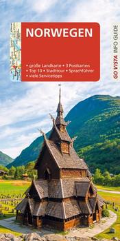 GO VISTA: Reiseführer Norwegen - Christian Nowak  [Taschenbuch]