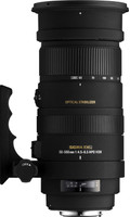 Sigma 50-500 mm F4.5-6.3 APO DG HSM OS 95 mm Objetivo (Montura Nikon F) negro