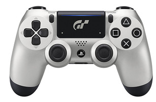 Sony PS4 DualShock 4 draadloze controller [Limited GT Sport Edition] zilver